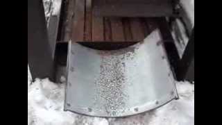 видео Дробилка шин от  производителя
