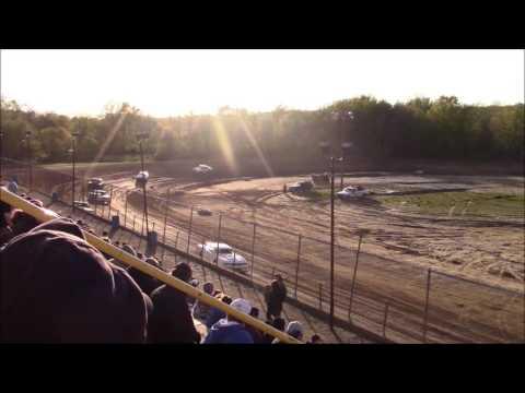 Butler Motor Speedway Street Stock Heat #2 5/6/17
