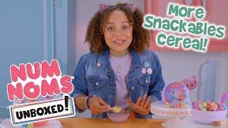 Unboxed! Season 2 | Num Noms | Episode 2: More Snackables Cereal!