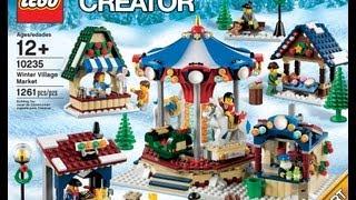 Lego Announces 10235 Winter Village Market Set