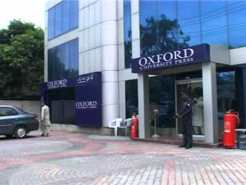 Oxford University Press Pakistan Corporate Video.