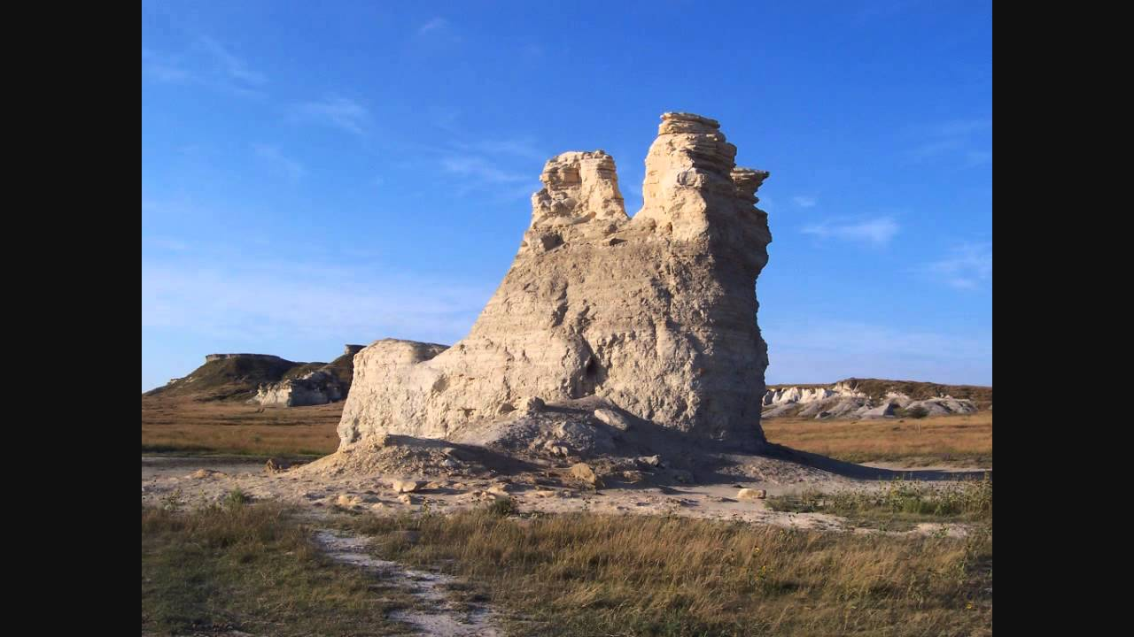 Kansas gove county grinnell - Monument Rocks And Castle Rock Gove County Kansas