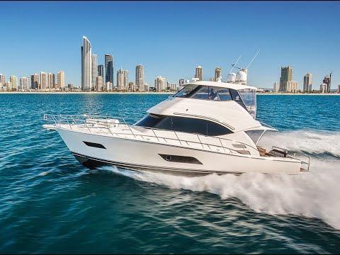 Riviera 52 Flybridge   R Marine Jones Queensland