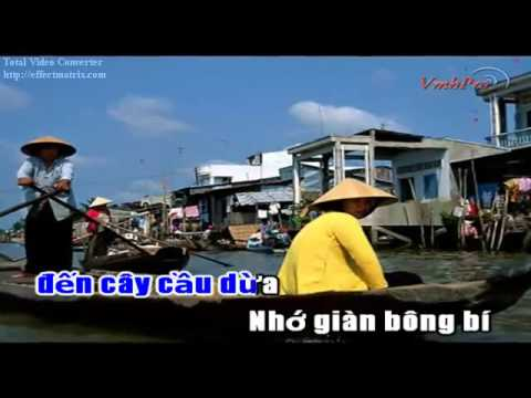 Cay Cau Dua  Ngoc Son Karaoke] (Dual Audio Track) - YouTube