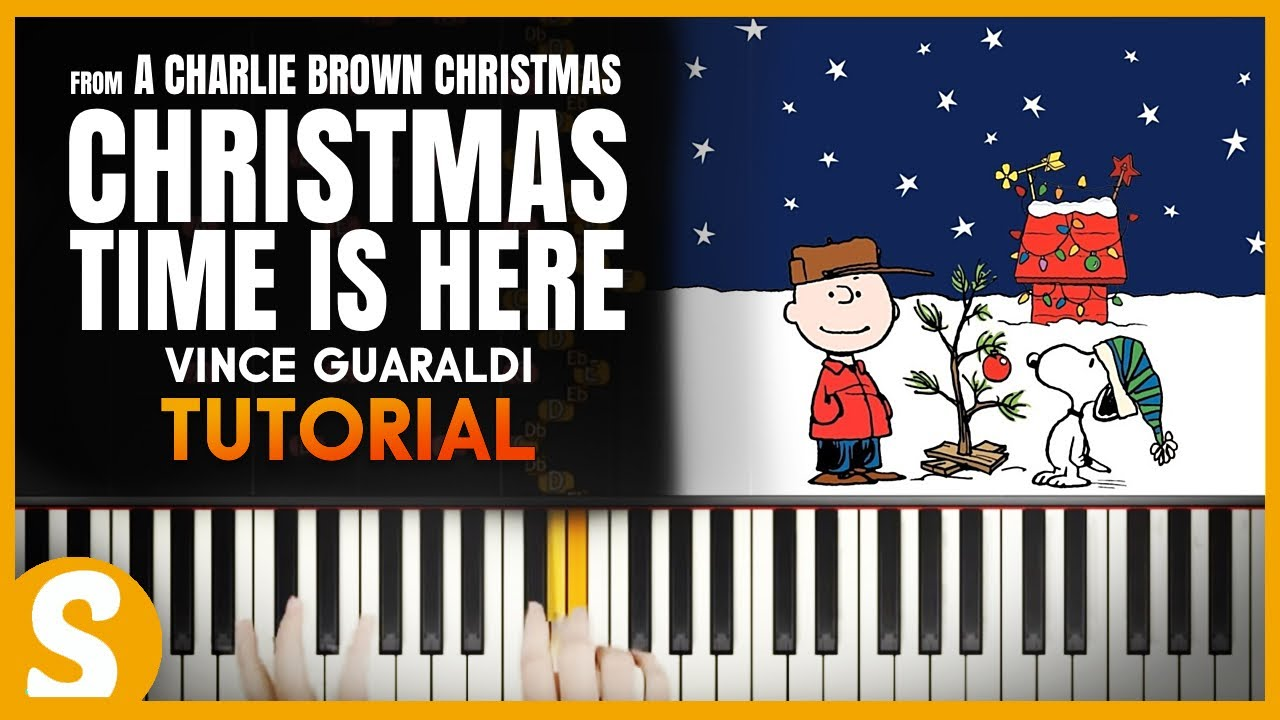 Christmas Time Is Here Piano.How To Play Christmas Time Is Here By Guaraldi Smart Classical Piano