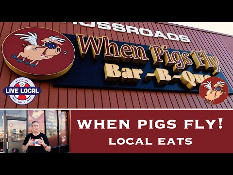 When Pigs Fly! | BBQ Food Review | Live Local Wichita