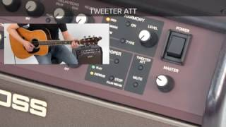 Acoustic Singer Quick Start chapter 8: Using Tweeter Attenuator / Mute