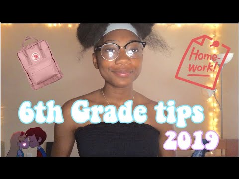 Middle School Tips and Advice | 6th grade