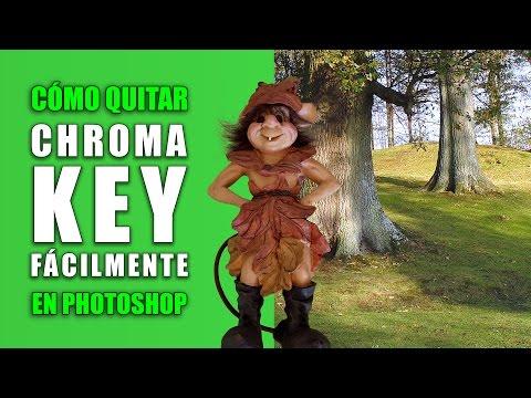 Cómo eliminar el Chroma Key muy fácilmente en Photoshop