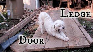 Traditional ledge door