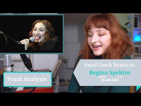 "Vocal Coach Reacts To Regina Spektor Singing ""Samson"" (live) - Analysis And Reaction"