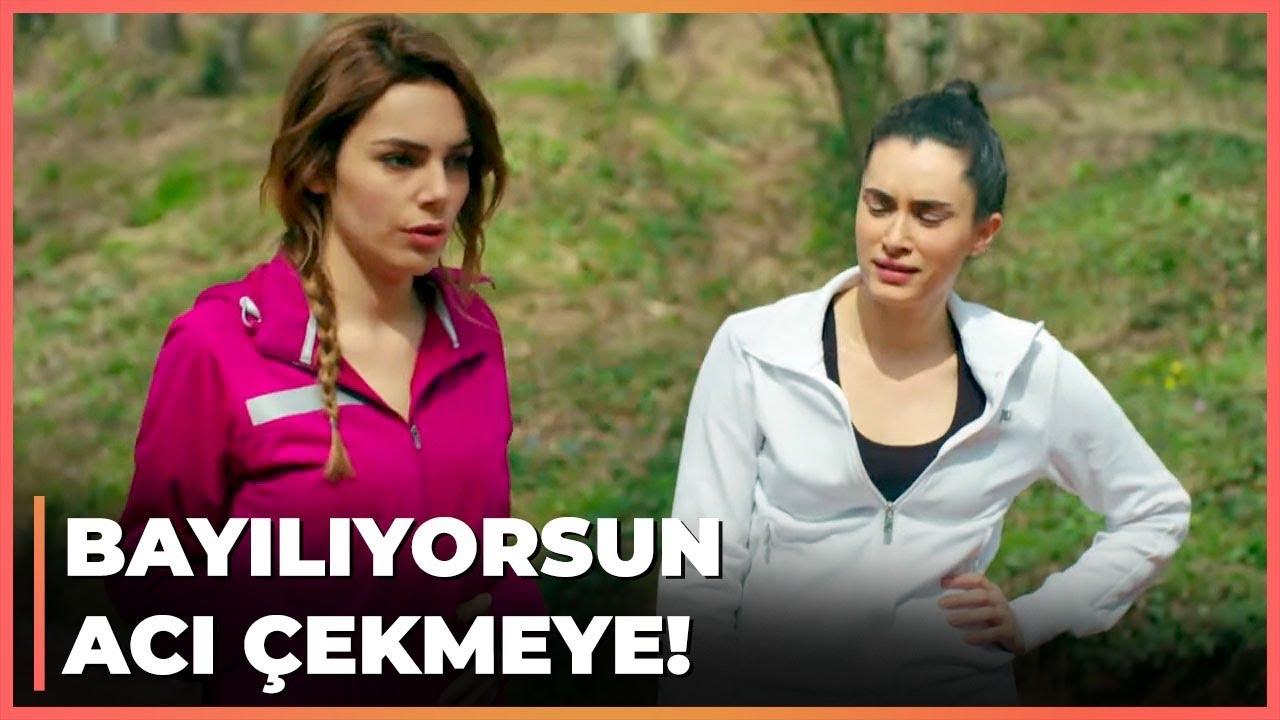 Cihan, Zeynep ve Melis Koşu Antrenmanı Yaptırdı! - Güneşi Beklerken 39. Bölüm