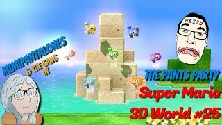 super mario 3d world || part 25: kitten time || pants party