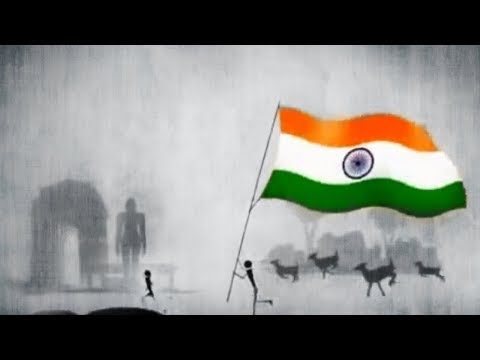 A tribute to the national anthem of India