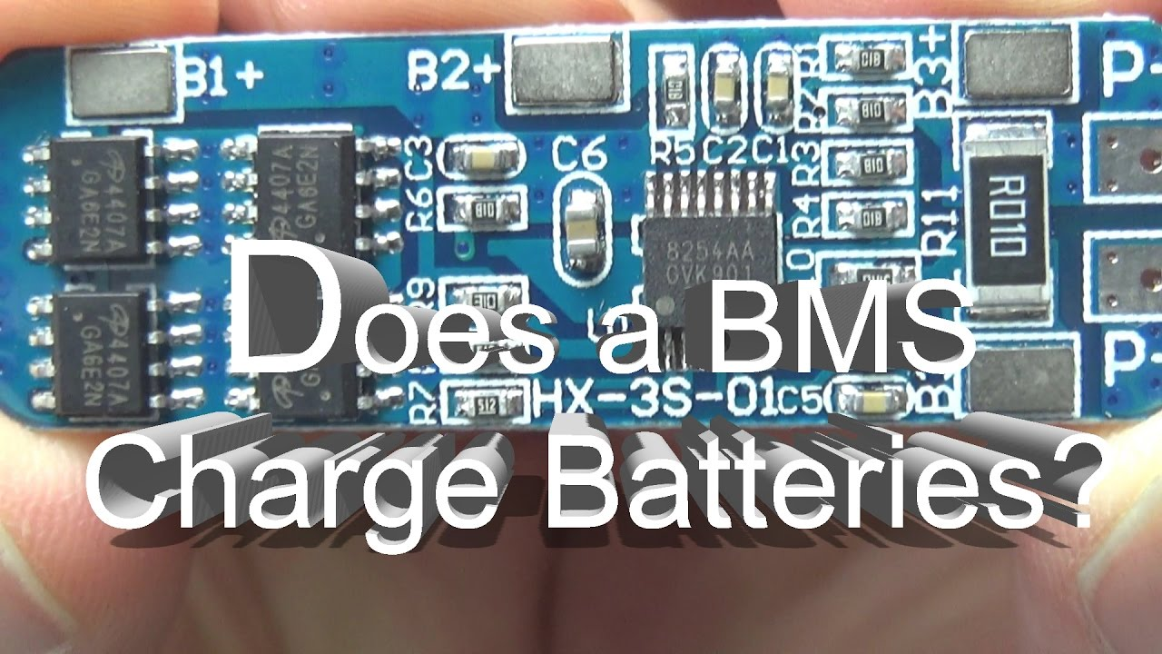 Does A Bms Charge My Batteries Mehs Episode 57 Youtube