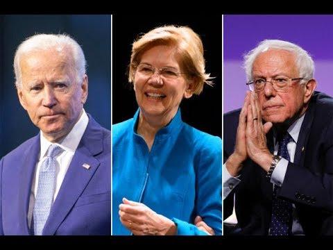 Bernie & Warren Tag Team Biden To Smithereens On Healthcare
