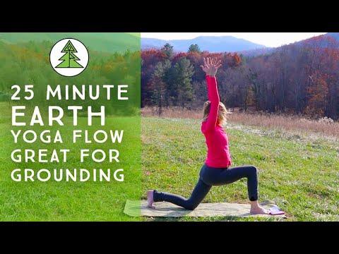25 Minute Gentle Yoga Flow & Yoga Nidra for the Earth Element / Grounding