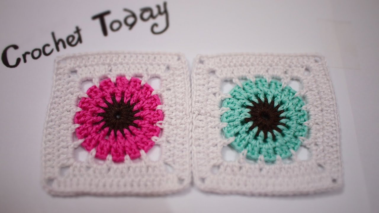 Crochet Tutorial How To Crochet A Granny Square For