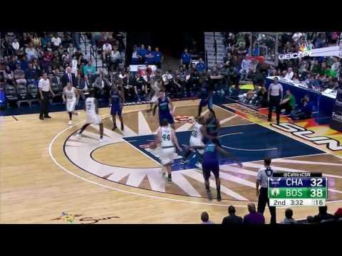 Tyler Zeller Highlights vs Charlotte Hornets (14 pts)