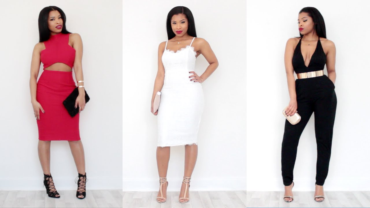 3 Nye Party Outfit Ideas Lookbook Youtube