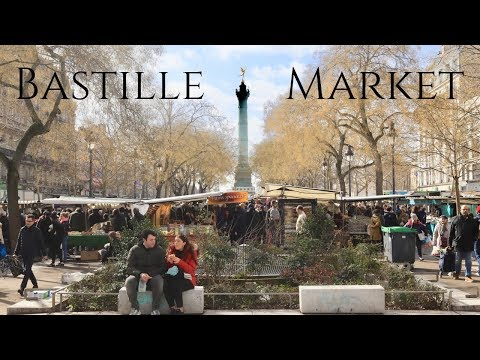 Paris Bastille Market Stroll (with Bonus Sea Urchins Tasting)