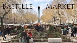 Paris Bastille Market Stroll (with bonus sea urchins tasting)