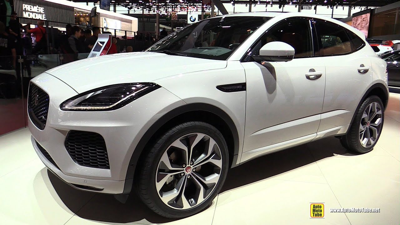 2019 jaguar e-pace - exterior and interior walkaround - 2018 paris motor show