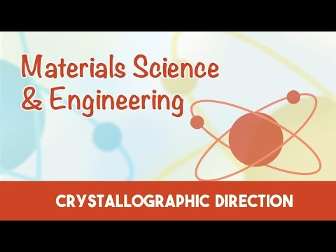 AMIE Exam Lectures- Materials Science & Engineering | Crystallographic Direction | 3.5