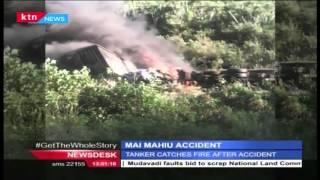 Mai Mahiu tanker that crashed leave one person dead