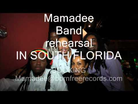 Mamadee Band Rehearsal in Florida Mamadee and Friends.(c)Born Free Records