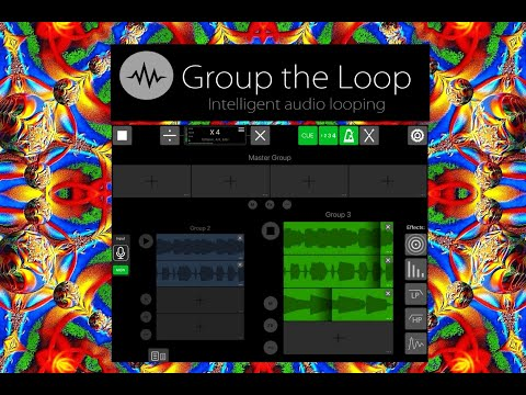 Group The Loop - The Intelligent Looper - Full Demo & Tutorial - iPad Live