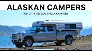 pop-up hard side truck campers by Alaskan Campers :Overland Expo 2017