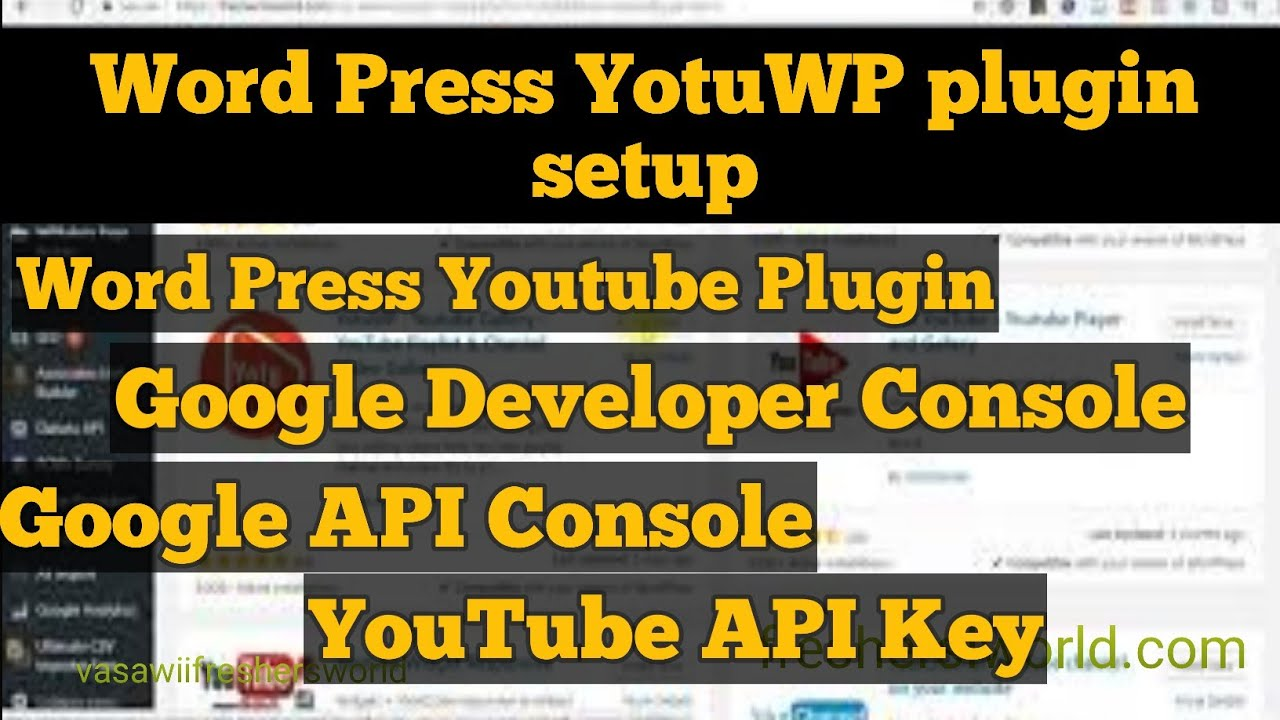 YotuWP WordPress Plugin I