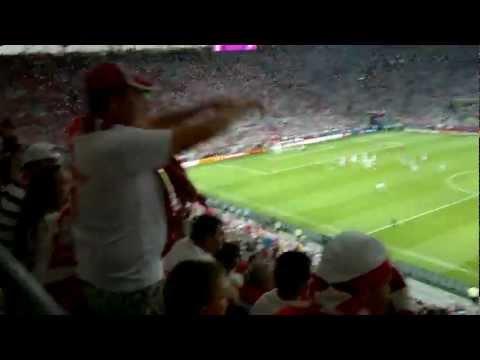 Polska Czechy EURO 2012 Oprawa meczu
