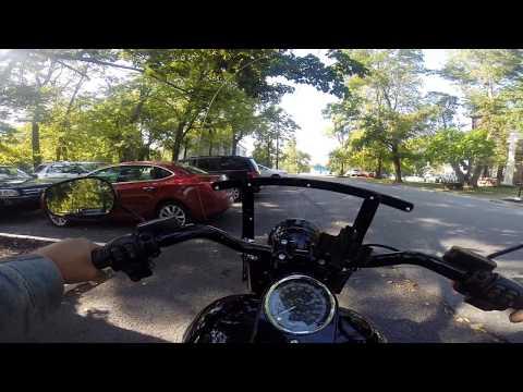 Harley Fat Boy S ride from Harrodsburg to Lexington, Kentucky