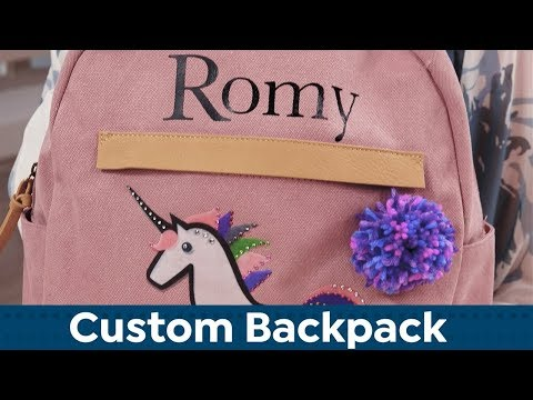 DIY Custom Backpack | HSN Gets Crafty