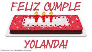 Feliz Cumpleanos Amiga Yolanda