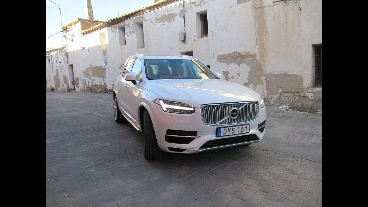 2016 volvo xc90 t8 plug in hybrid 39 twin engine 39 first. Black Bedroom Furniture Sets. Home Design Ideas