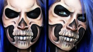 Skeletal | Skull Makeup Tutorial
