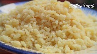 Xôi vò nước cốt dừa miền Tây, bí quyết làm xôi dẻo tơi mà không khô || Natha Food