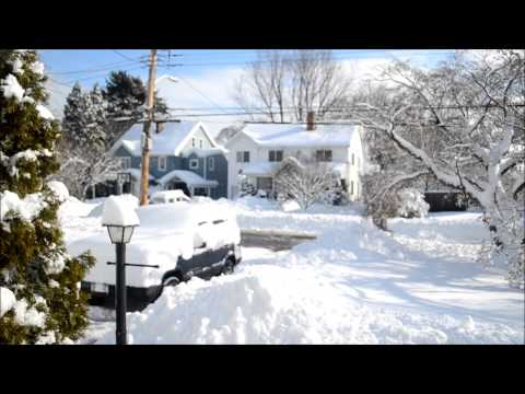 Rye Brook, NY Snow Storm by Jerry Morano