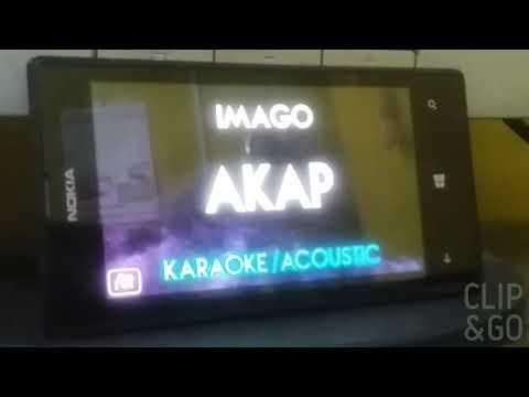 Akap - Imago (acoustic karaoke)