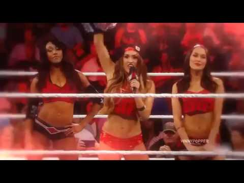 Team Bella  Bella Twins Theme song 2017 niki bella brie bella alicia fox