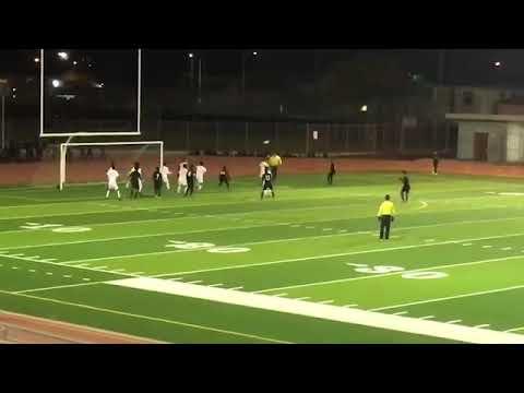 Header goal vs Animo Leadership high school 1/14/2020