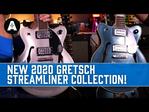 The Iconic Rock 'N' Roll Guitar Gets An Eye-Catching Upgrade! - 2020 Gretsch Streamliner Collection
