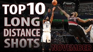 Repeat youtube video Top 10 Long Distance Shots November 2016