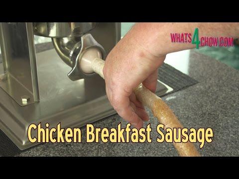 Chicken Breakfast Sausage. A Delicious Alternative to Pork Bangers - Quick & Easy!!!
