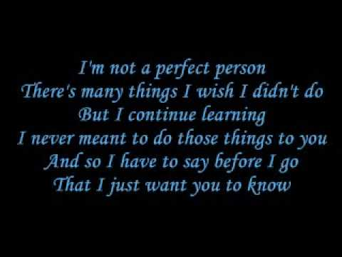 Hoobastank The Reason lyrics