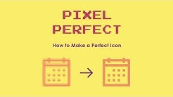 How to Make Pixel Perfect Icons