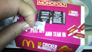 Am I a McWinner at McDonald's Monopoly? Episode 1